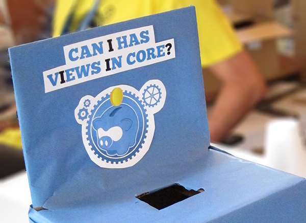Views in Core donation box: 'Can I has Views in core?'