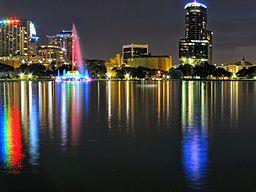 Lake Eola Park, by Miosotis Jade